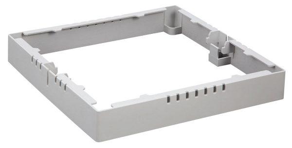 Универсальный накладной/встраиваемый потолочный светодиодный светильник DLS020 18W 4200K 6
