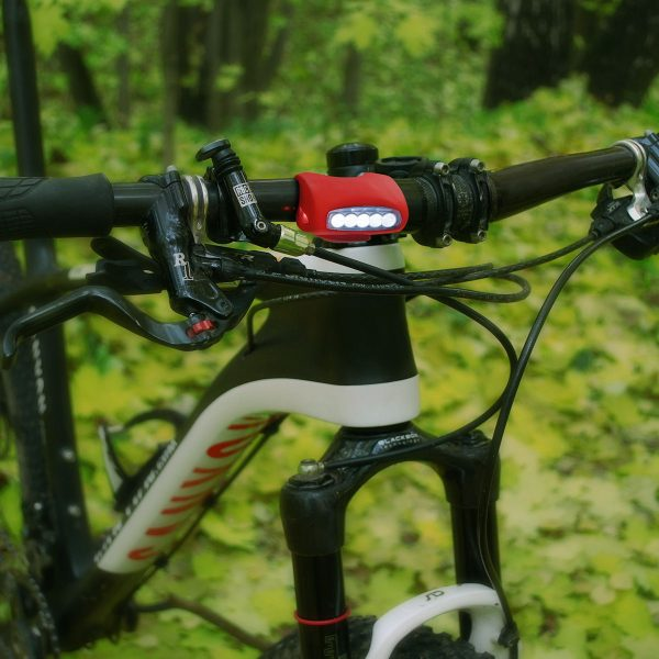 Велосипедный светодиодный фонарь Forward красный 1