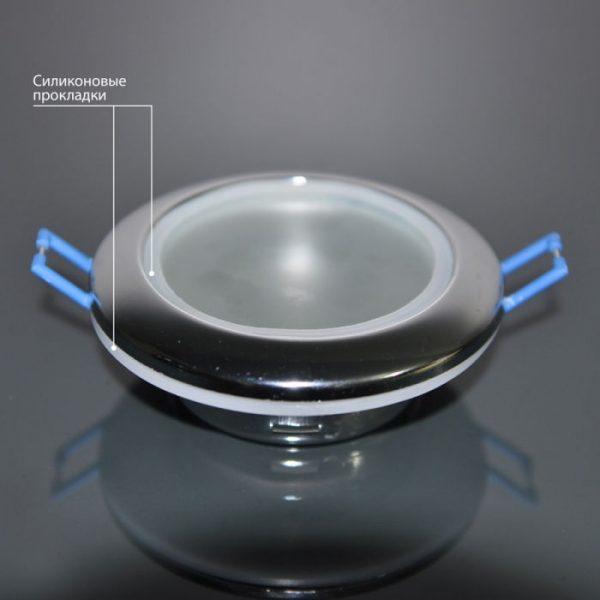 Влагозащищенный точечный светильник 1080 MR16 CH хром 1