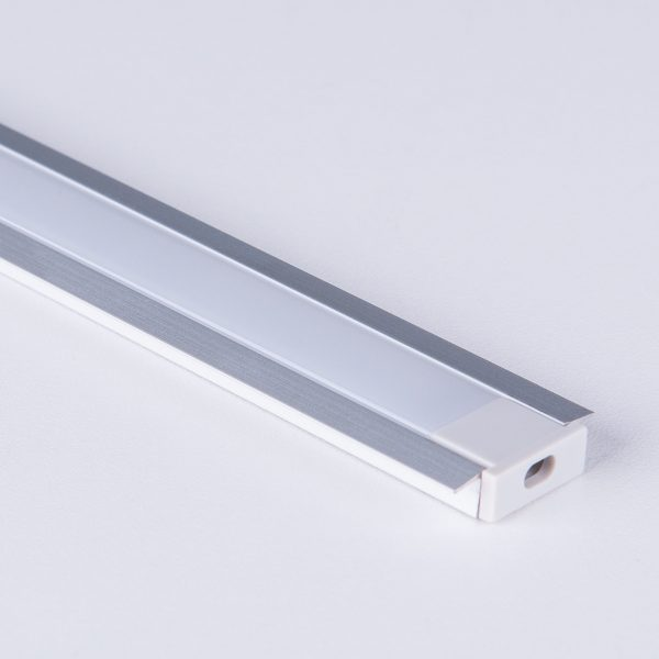 Встраиваемый алюминиевый профиль для светодиодной ленты LL-2-ALP007 1