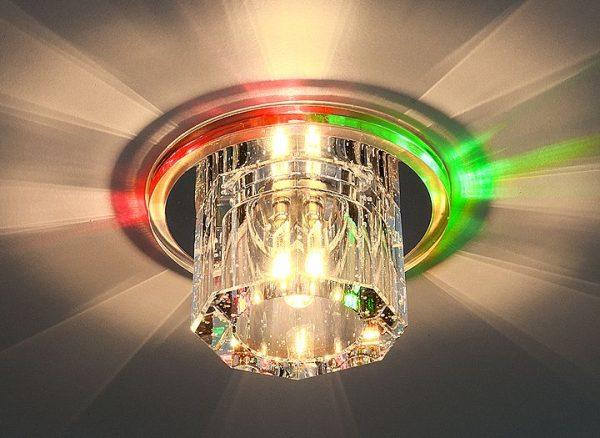 Встраиваемый потолочный светильник для реечных