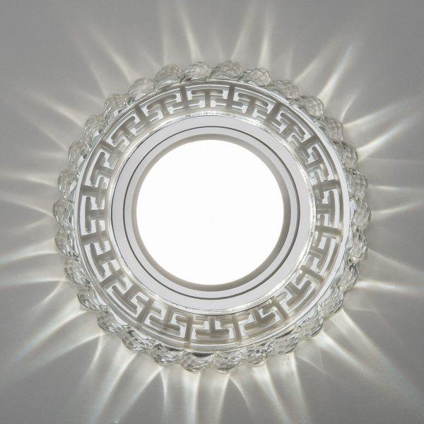 Встраиваемый потолочный светильник с LED подсветкой 2217 MR16 CL прозрачный 3