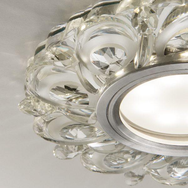 Встраиваемый потолочный светильник с LED подсветкой 2219 MR16 CL прозрачный 4