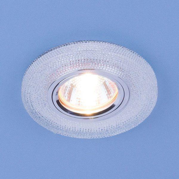 Встраиваемый потолочный светильник со светодиодной подсветкой 2130 MR16 CL прозрачный 2