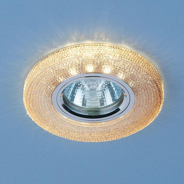 Встраиваемый потолочный светильник со светодиодной подсветкой 2130 MR16 GС тонированный 1