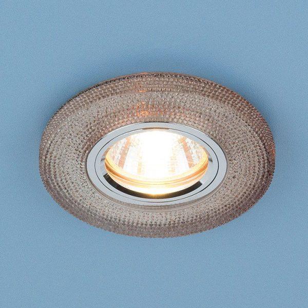 Встраиваемый потолочный светильник со светодиодной подсветкой 2130 MR16 GС тонированный 2