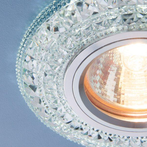 Встраиваемый потолочный светильник со светодиодной подсветкой 2160 MR16 CL прозрачный 2