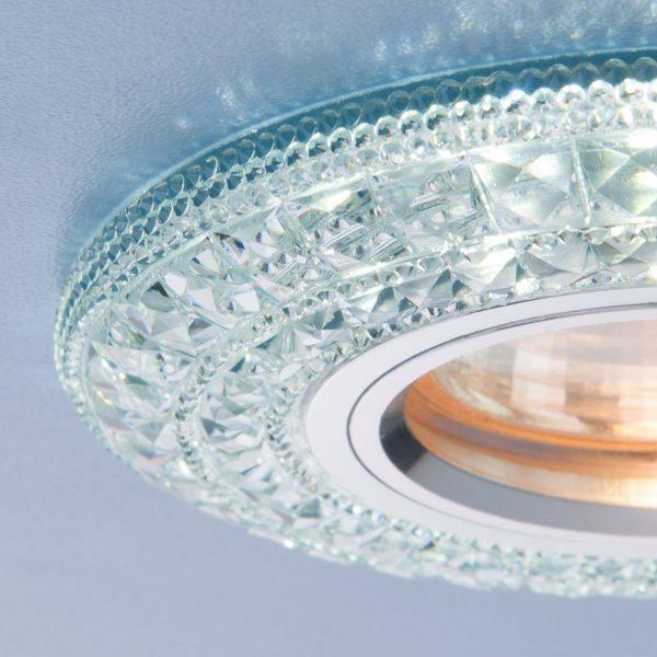 Встраиваемый потолочный светильник со светодиодной подсветкой 2160 MR16 CL прозрачный 3
