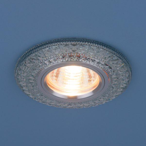 Встраиваемый потолочный светильник со светодиодной подсветкой 2160 MR16 CL прозрачный 5