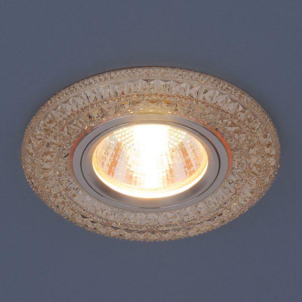 Встраиваемый потолочный светильник со светодиодной подсветкой 2160 MR16 GC тонированный 2