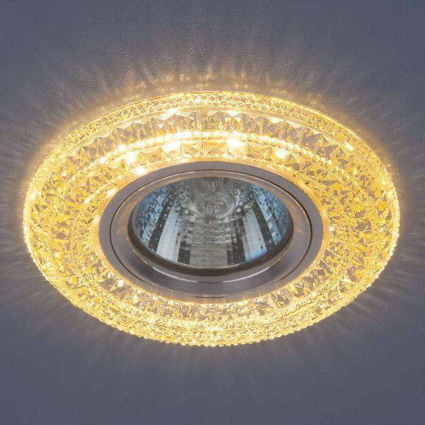 Встраиваемый потолочный светильник со светодиодной подсветкой 2160 MR16 GC тонированный 1