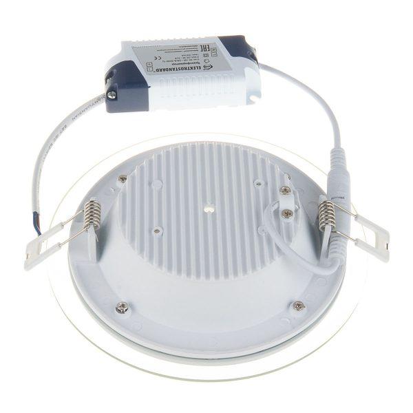 Встраиваемый потолочный светодиодный светильник DLKR160 12W 4200K белый 4