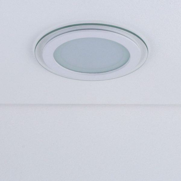 Встраиваемый потолочный светодиодный светильник DLKR160 12W 4200K белый 2