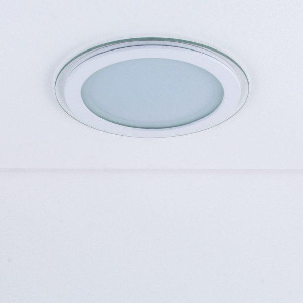 Встраиваемый потолочный светодиодный светильник DLKR200 18W 4200K белый 1