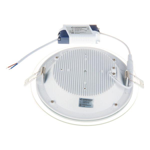 Встраиваемый потолочный светодиодный светильник DLKR200 18W 4200K белый 3