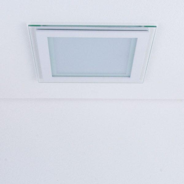 Встраиваемый потолочный светодиодный светильник DLKS200 18W 4200K белый 1