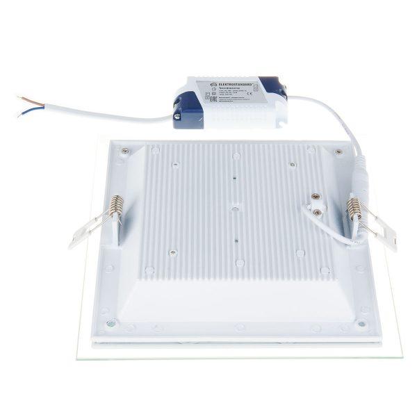 Встраиваемый потолочный светодиодный светильник DLKS200 18W 4200K белый 3