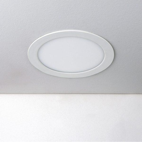 Встраиваемый потолочный светодиодный светильник DLR003 18W 4200K 1