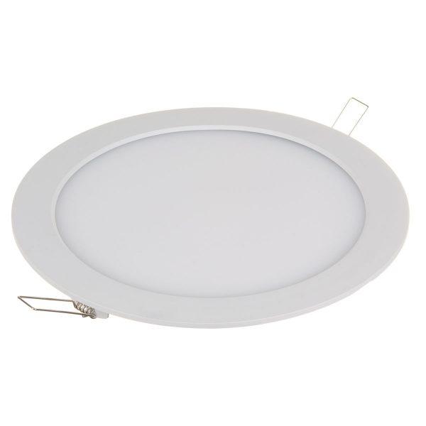 Встраиваемый потолочный светодиодный светильник DLR003 18W 4200K 2