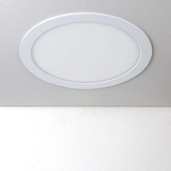 Встраиваемый потолочный светодиодный светильник DLR003 24W 4200K 1