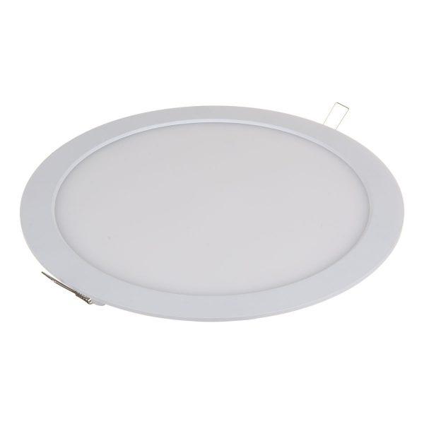 Встраиваемый потолочный светодиодный светильник DLR003 24W 4200K 2