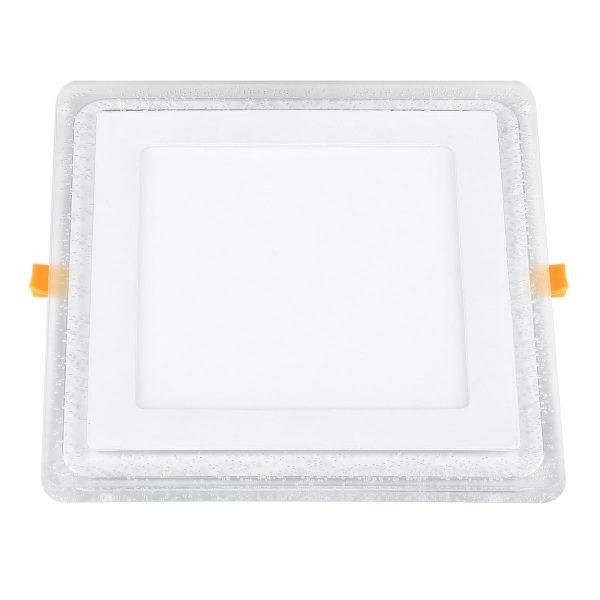Встраиваемый потолочный светодиодный светильник DLS024 12+6W 4200K 1