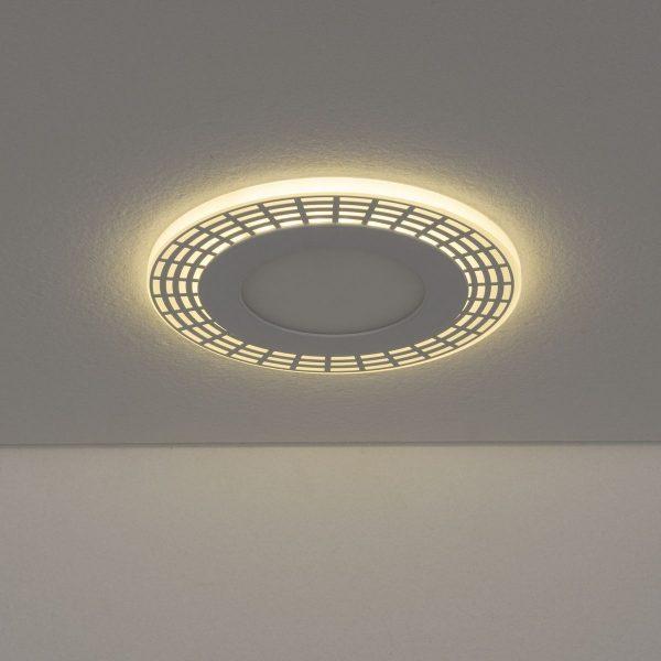 Встраиваемый потолочный светодиодный светильник DSS001 7+3W 4200K 2