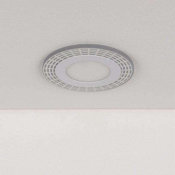 Встраиваемый потолочный светодиодный светильник DSS001 7+3W 4200K 1