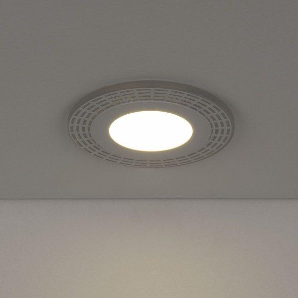 Встраиваемый потолочный светодиодный светильник DSS001 7+3W 4200K 4