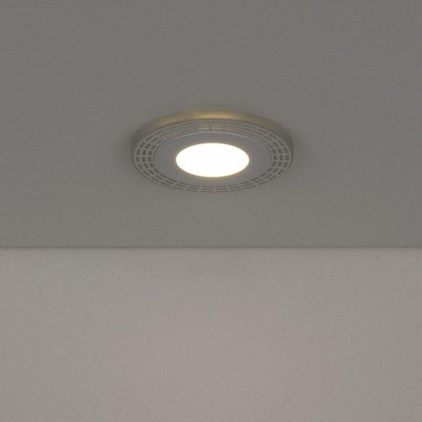 Встраиваемый потолочный светодиодный светильник DSS001 3+3W 4200K 2