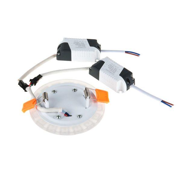 Встраиваемый потолочный светодиодный светильник DSS001 3+3W 4200K 4