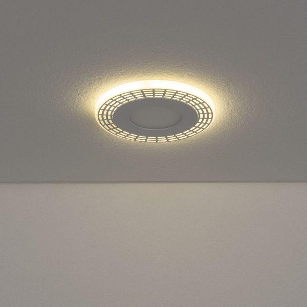 Встраиваемый потолочный светодиодный светильник DSS001 3+3W 4200K 3