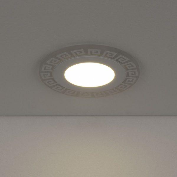 Встраиваемый потолочный светодиодный светильник DSS002 7+3W 4200K 2