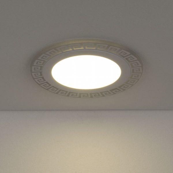 Встраиваемый потолочный светодиодный светильник DSS002 12+6W 4200K 2