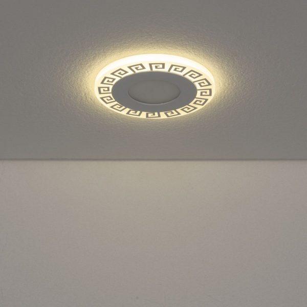Встраиваемый потолочный светодиодный светильник DSS002 3+3W 4200K 2