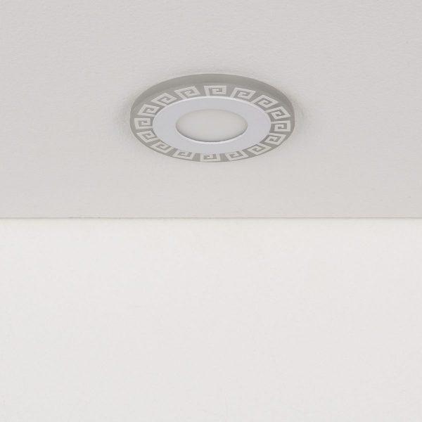Встраиваемый потолочный светодиодный светильник DSS002 3+3W 4200K 1