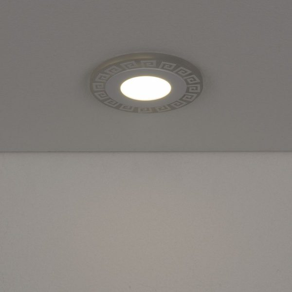 Встраиваемый потолочный светодиодный светильник DSS002 3+3W 4200K 3