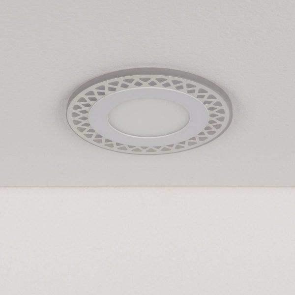 Встраиваемый потолочный светодиодный светильник DSS003 7+3W 4200K 1