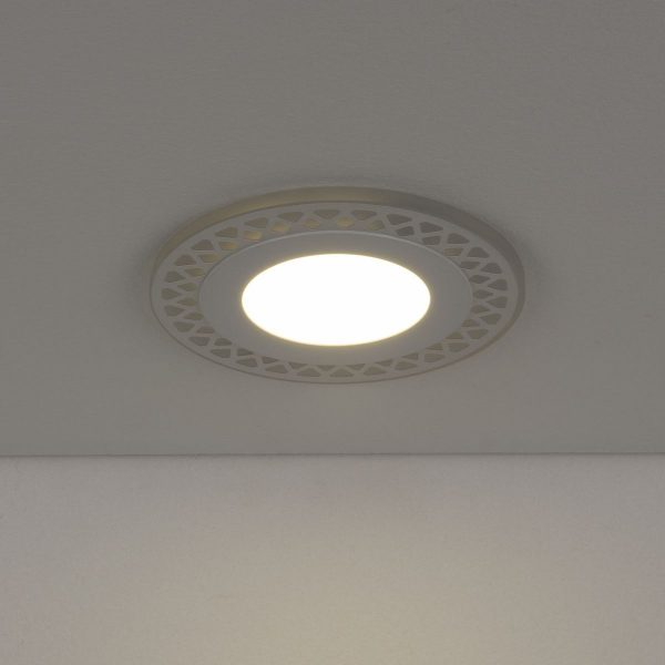 Встраиваемый потолочный светодиодный светильник DSS003 7+3W 4200K 2