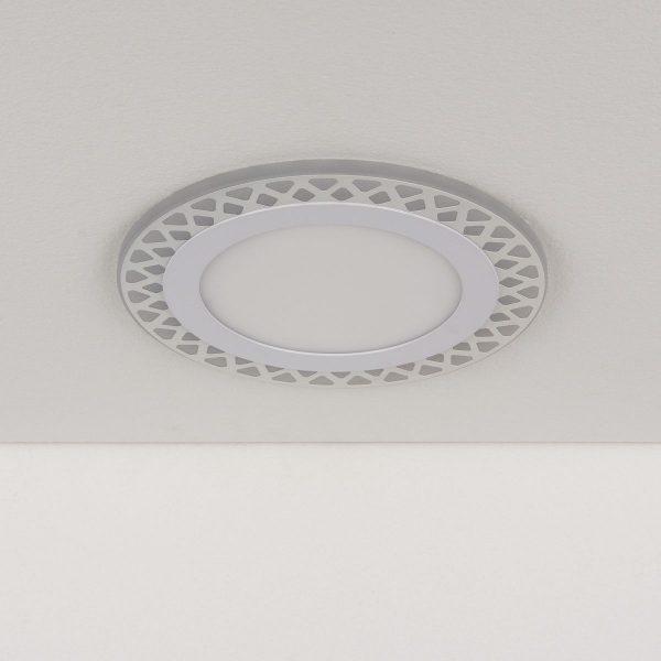 Встраиваемый потолочный светодиодный светильник DSS003 12+6W 4200K 2
