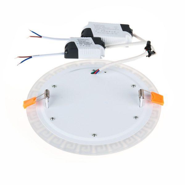 Встраиваемый потолочный светодиодный светильник DSS003 12+6W 4200K 5