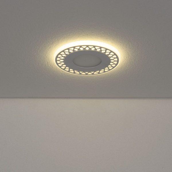 Встраиваемый потолочный светодиодный светильник DSS003 3+3W 4200K 2