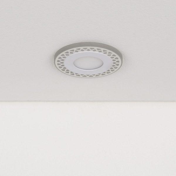 Встраиваемый потолочный светодиодный светильник DSS003 3+3W 4200K 1