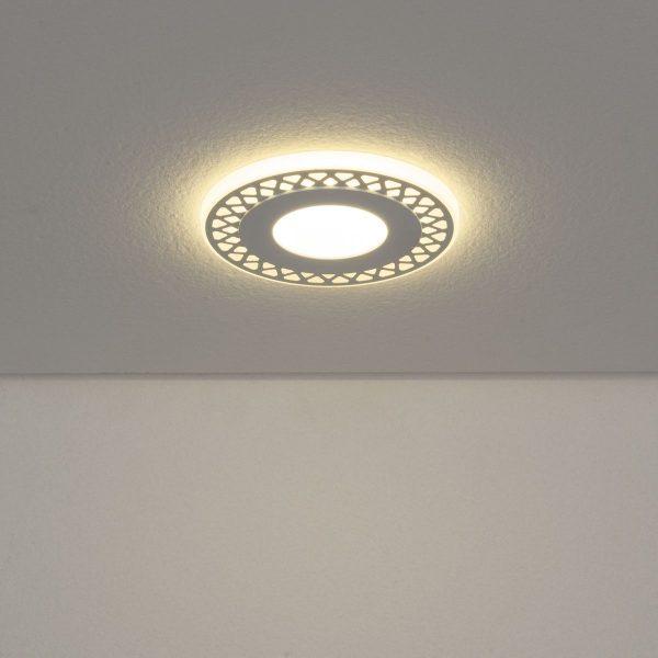 Встраиваемый потолочный светодиодный светильник DSS003 3+3W 4200K