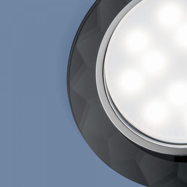 Встраиваемый точечный светильник 1061 GX53 Grey серый 1