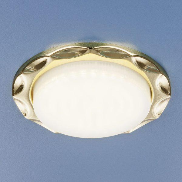 Встраиваемый точечный светильник 1064 GX53 GD золото