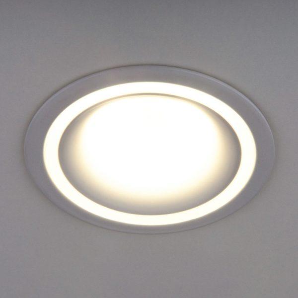 Встраиваемый точечный светильник 7012 MR16 WH белый 1