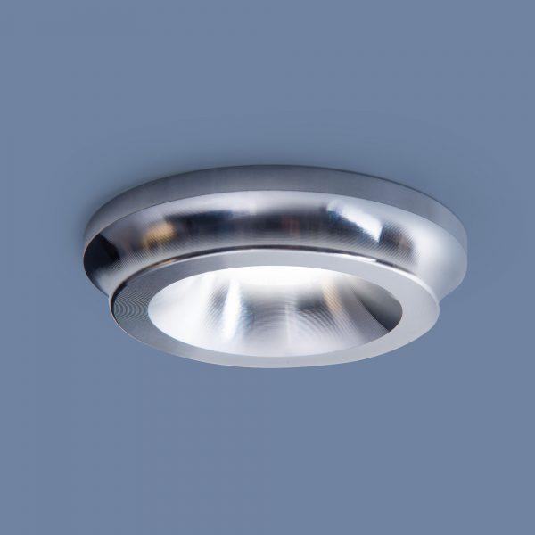 Встраиваемый точечный светодиодный светильник DSHB48 3W 4200K хром 1