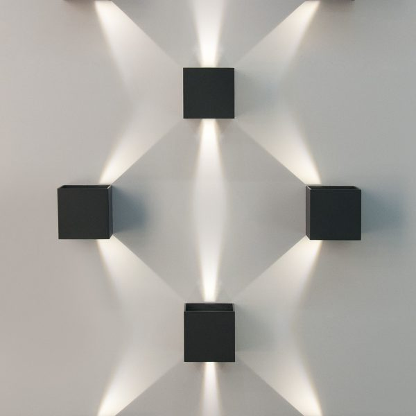 WINNER серый уличный настенный светодиодный светильник 1548 TECHNO LED 3