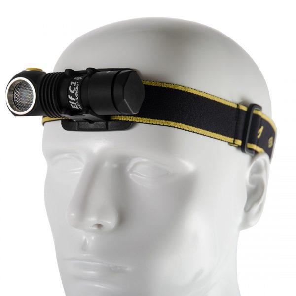 Налобный фонарь Armytek Elf C1 Micro-USB XP-L (белый свет) + 18350 Li-Ion 2